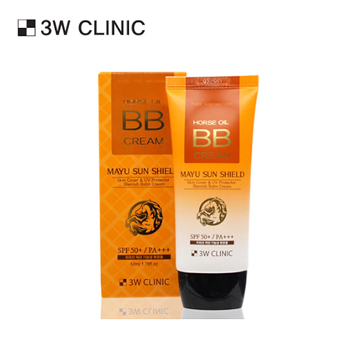 [3W CLINIC] HORSE OIL BB CREAM 50ml