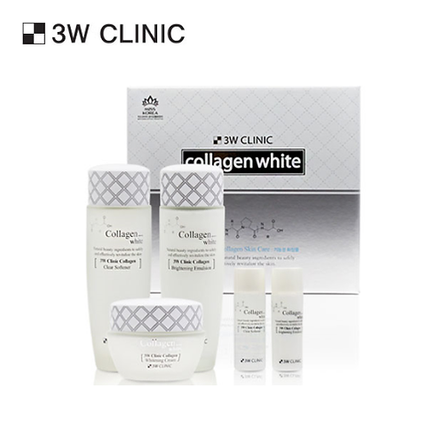 [3W CLINIC] COLLAGEN WHITE SKIN CARE 3-SET