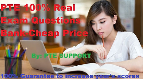 PTE Real Exam Questions-PTE Support