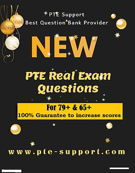 PTE Real Exam Questions Bank (December 2019 Update)-FREE