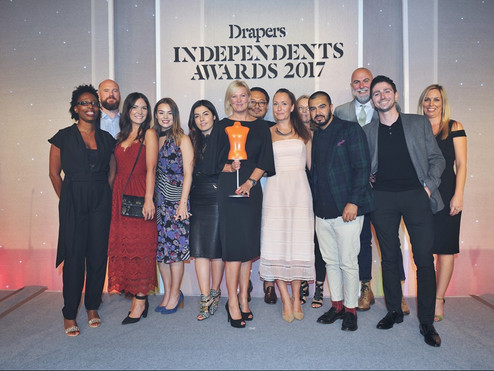 Drapers Accessories Brand of the Year! (thats us btw)