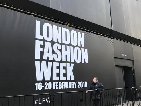 PB at London Fashion Week