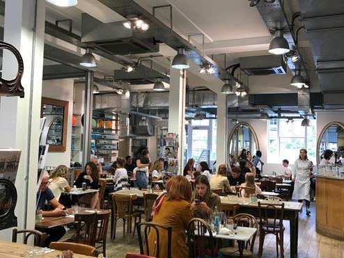 The best 5 brunch spots in Notting Hill
