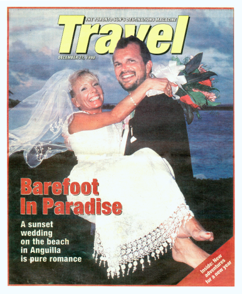 Cover of Toronto Sun Travel Section