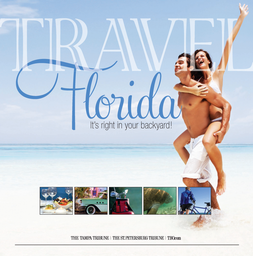 Cover of the Tampa Tribune/Tampa Bay Times 2015 Travel Florida section
