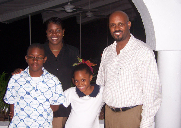 Pastor MacDonna and his family