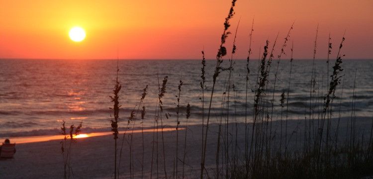 Sunset at Grayton Beach State Park