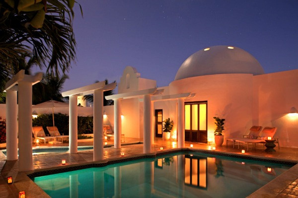 Our Moroccan-style pool villa