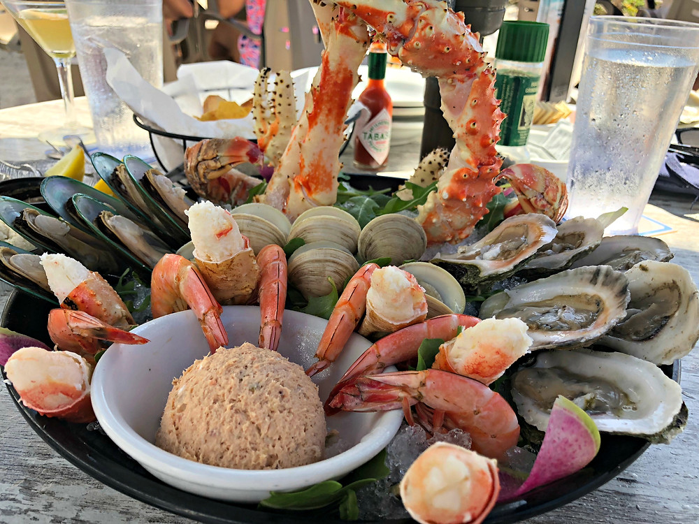 Tower Seafood Platter at The Beach House