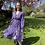 Thumbnail: Floral dress paars