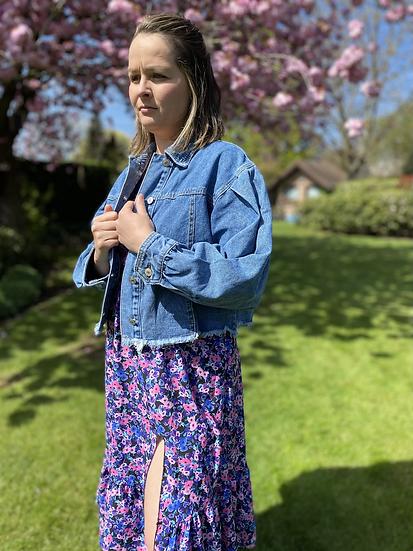 Jeansjacket Balloon Sleeve