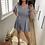 Thumbnail: Stunning Jumpsuit Blauw/grijs