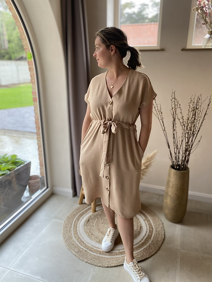 Lotte Dress Beige