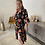 Thumbnail: Floral dress black