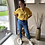Thumbnail: Tess High Waist Straight Jeans