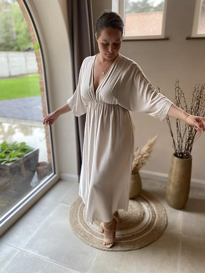 Astrid Romantic Dress Beige