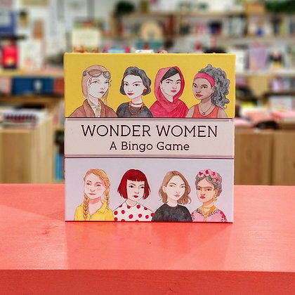 Wonder Women. A bingo Game
