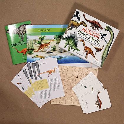 Il mio cofanetto Montessori  dei Dinosauri - L'Ippocampo