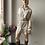 Thumbnail: Rachelle Dress satijn - beige