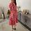 Thumbnail: Floral dress roze