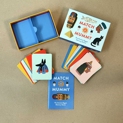 Match Mummy. The Ancient Egypt Memory Game