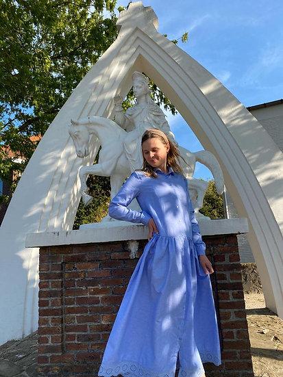 Lavendel maxi dress