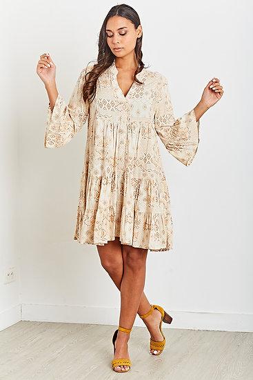 Ibiza Dress- Beige