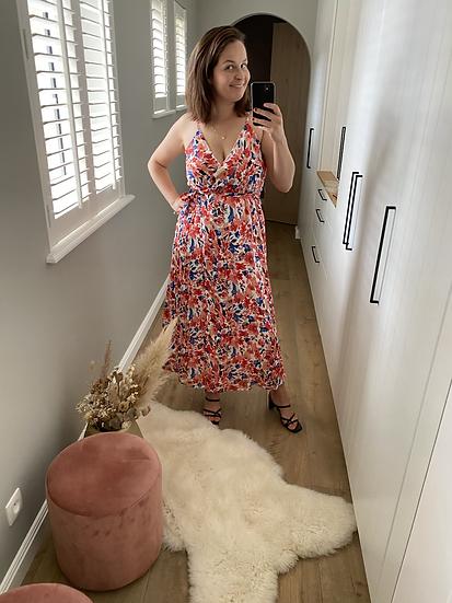 LillieRose Maxi Dress Rood