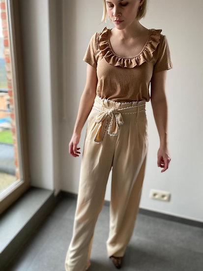Louisa broek beige