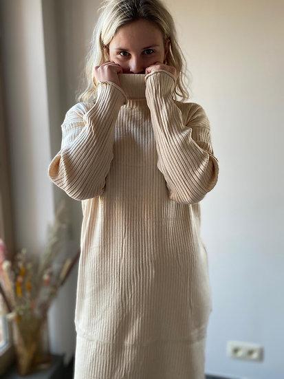 Sweater Dress Beige