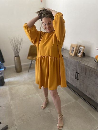 Sweet Mustard Dress