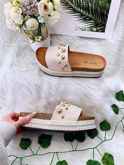 Beige Sweet Shoes