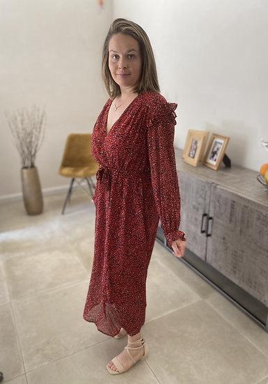 Romanctic Red Dress
