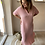 Thumbnail: Waffle dress roze