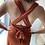 Thumbnail: Malibu Dress Terracota (op verschillende manieren te dragen)