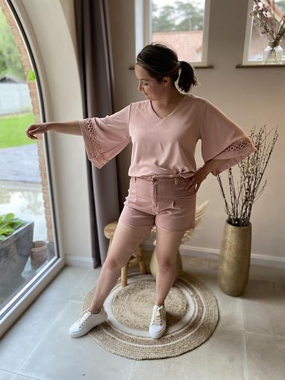 Jasmien Blouse Pink
