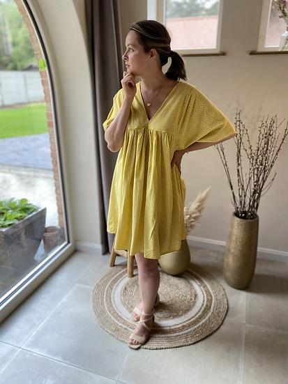 Sunny Flower Dress Yellow