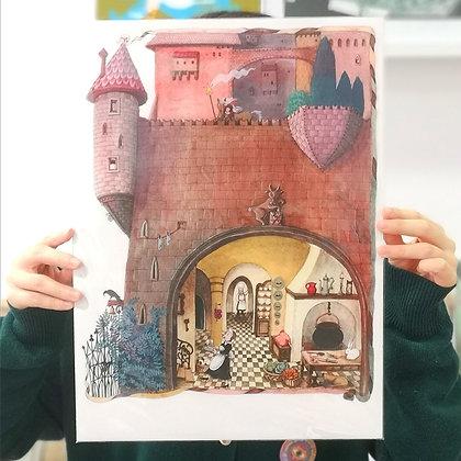 La cucina del castello