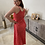 Thumbnail: Red summer dress