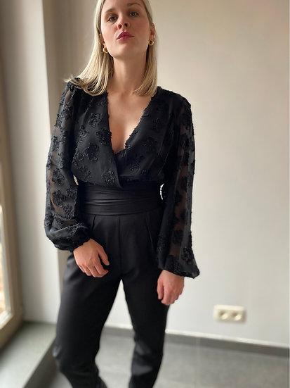 High waist elegante broek