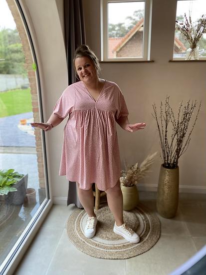 Sunny Flower Dress Pink