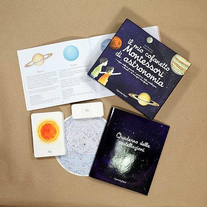 Il mio cofanetto Montessori di astronomia - L'Ippocampo