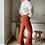 Thumbnail: Bruine rekbare broek