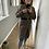 Thumbnail: Lange detail vest bruin