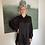 Thumbnail: Rachelle Dress satijn - zwart
