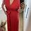 Thumbnail: Malibu Dress Rood (op verschillende manieren te dragen)