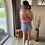 Thumbnail: High waist Demin Short