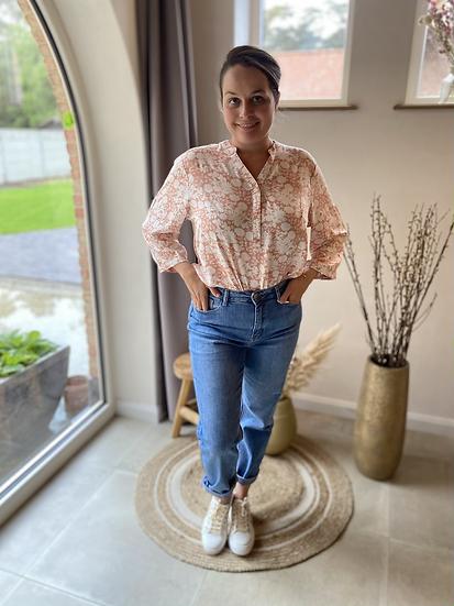 Tess High Waist Straight Jeans