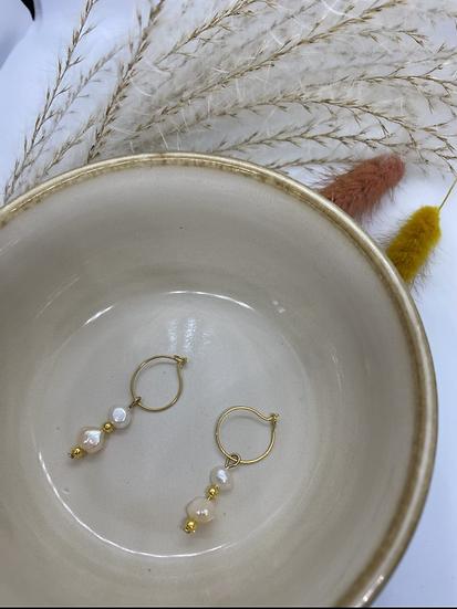 Sweetwater pearl Earrings
