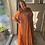 Thumbnail: Flower Maxi Dress Oranje